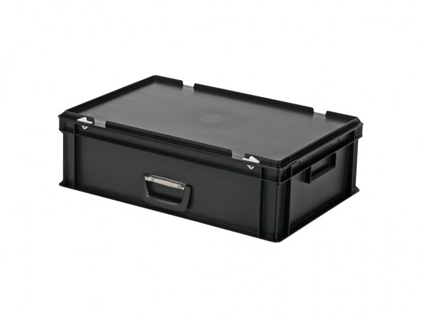 Valise - 600x400xH185mm - noir