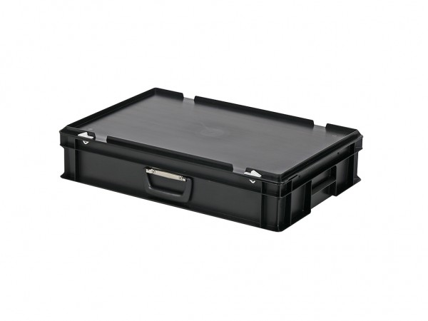Valise - 600x400xH135mm - noir
