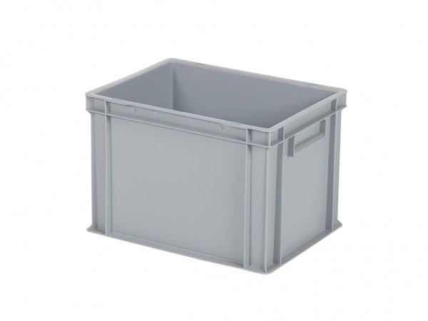 Bac gerbable / bac à assiettes - 400x300xH280mm - gris