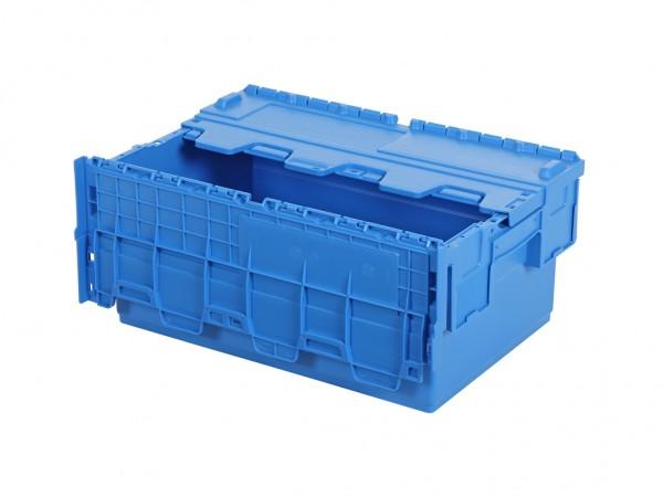 Bac de distribution 600x400xH265mm bleu