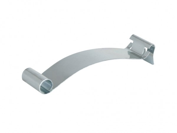 Pince à étiquette galvanisée (clipsable)