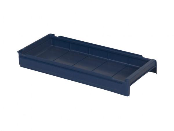 Bac divisible en plastique - 600x230xH100mm - bleu