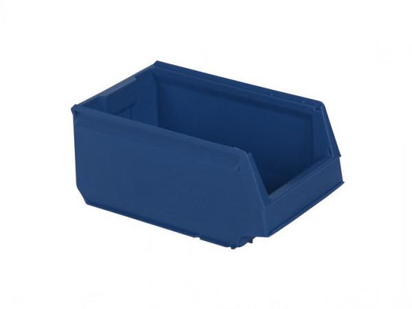 Bac de rangement en plastique - 350x206xH150mm - bleu