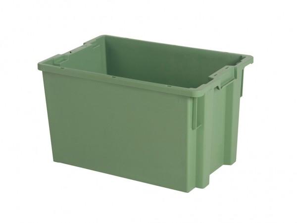 Bac gerbable emboîtable - 600x400xH350mm - vert