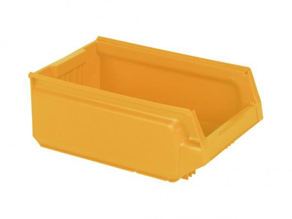 Bac de rangement en plastique - 500x310xH200mm - jaune