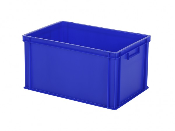 Bac gerbable - 600x400xH320mm - bleu