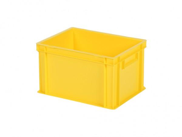 Bac gerbable / bac à assiettes - 400x300xH236mm - jaune