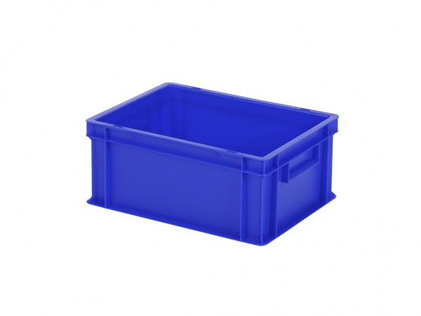 Bac gerbable / bac à assiettes - 400x300xH175mm - bleu