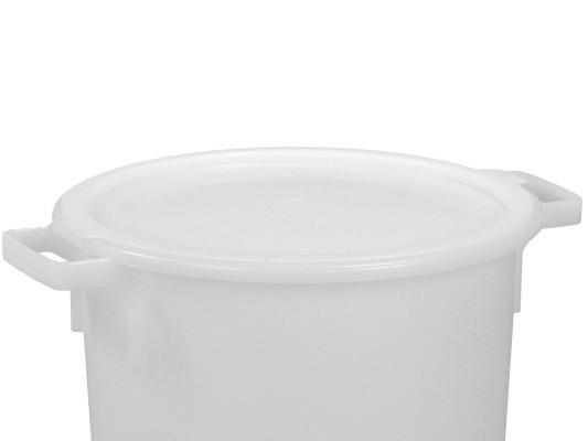 Couvercle à poser pour des tonneaux 40 et de 50 litres - blanc naturel