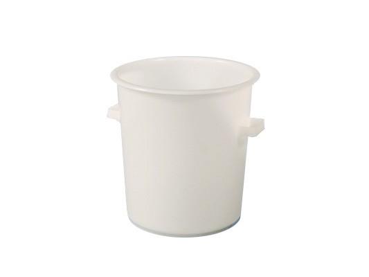 Tonneau 75 litres - heavy duty - blanc naturel