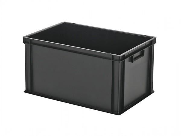 Bac gerbable - 600x400xH320mm - noir