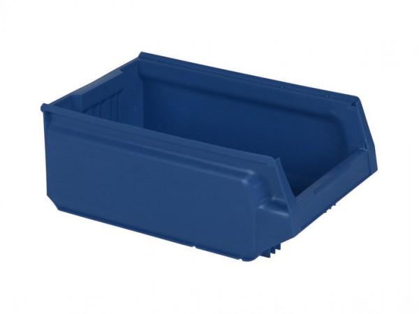 Bac de rangement en plastique - 500x310xH200mm - bleu