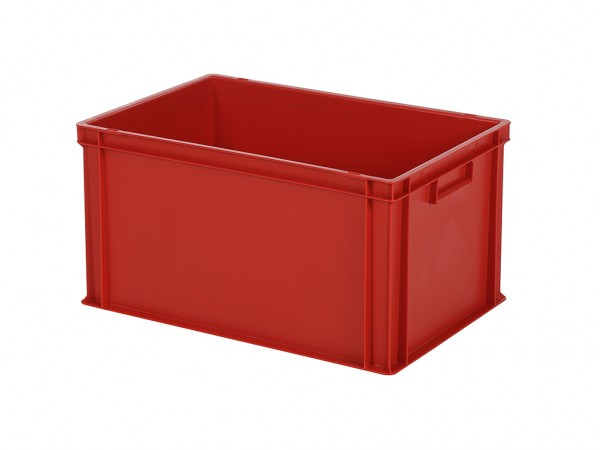 Bac gerbable - 600x400xH320mm - rouge
