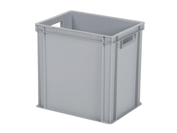Bac gerbable / bac à assiettes - 400x300xH400mm - gris