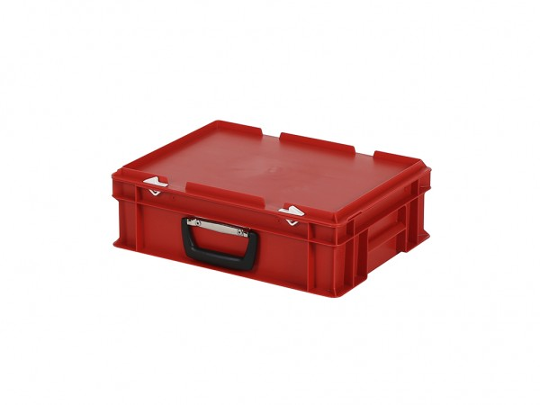Valise - 400x300xH133mm - rouge