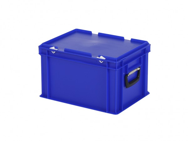 Valise - 400x300xH250mm - bleu