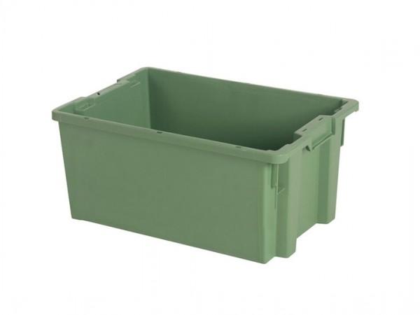 Bac gerbable emboîtable - 600x400xH270mm - vert