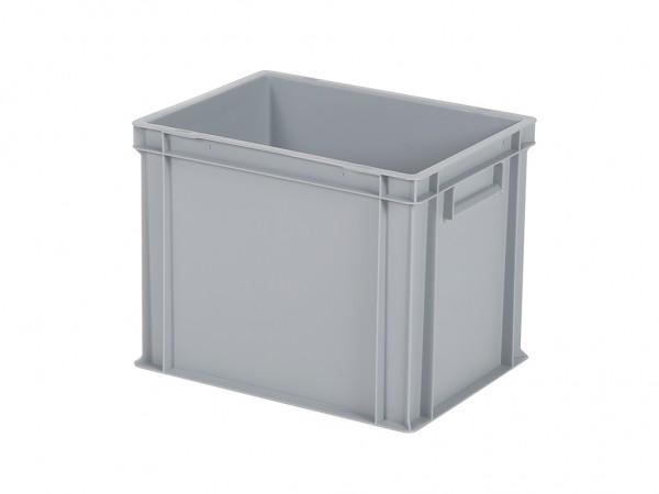 Bac gerbable / bac à assiettes - 400x300xH320mm - gris