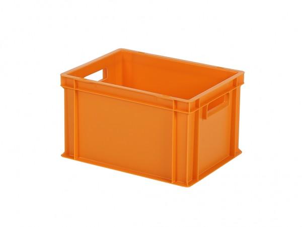 Bac gerbable / bac à assiettes - 400x300xH236mm - orange