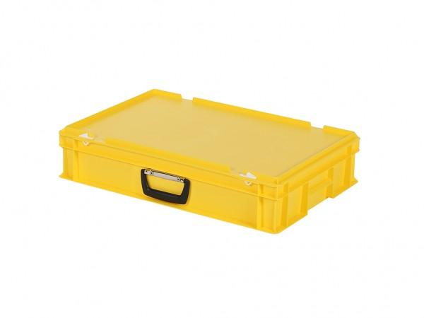 Valise - 600x400xH135mm - jaune