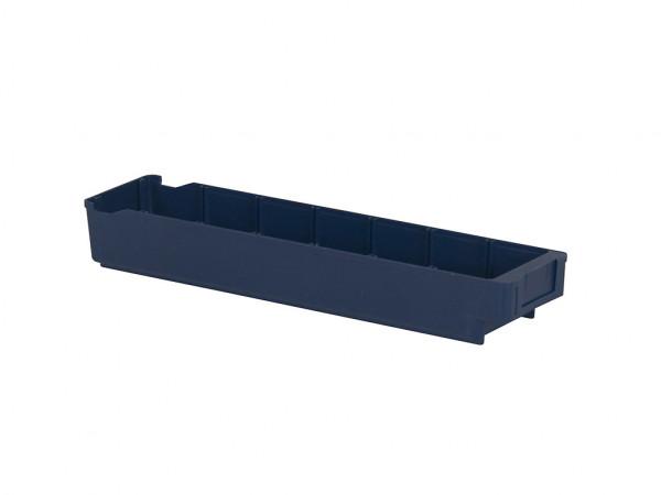 Bac divisible en plastique - 600x115xH100mm - bleu