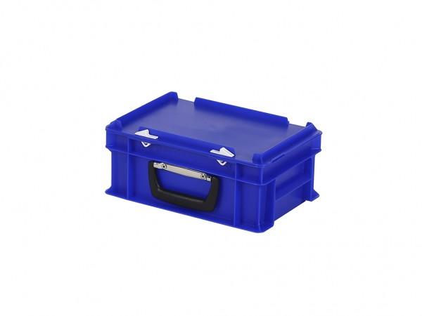 Valise - 300x200xH133mm - bleu