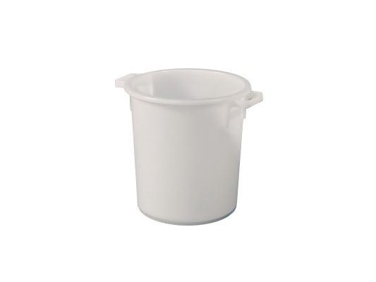 Tonneau 40 litres - heavy duty - blanc naturel