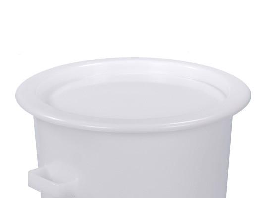 Couvercle à poser pour des tonneaux 75 et de 110 litres - blanc naturel