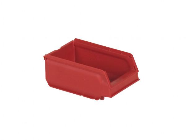 Bac de rangement en plastique - 170x105xH75mm - rouge