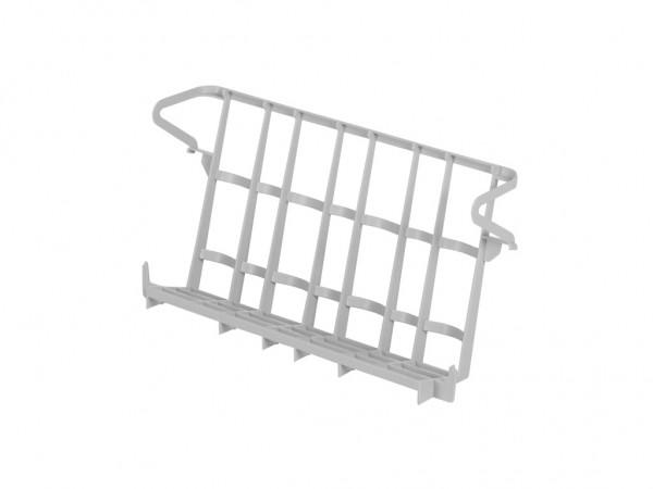 Support amovible pour verres - pour casiers bistro 400x400mm - gris