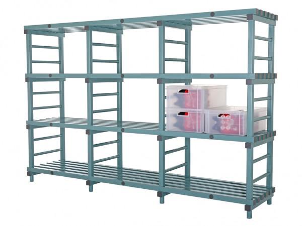 Rayonnage en plastique Euro - 2800x600xH1820mm